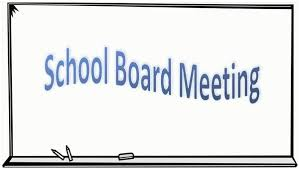 Next School Board Meeting - Monday, September 9, 2019